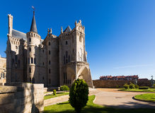 Episcopal Palace of Astorga Stock Images