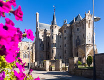Episcopal Palace of Astorga Royalty Free Stock Photos