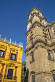 Episcopal Palace and Catherdral Malaga Royalty Free Stock Photography