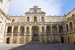 Episcopal palace. Lecce. Puglia. Italy. Stock Photos