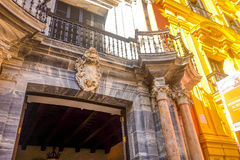 Episcopal Palace in Malaga, Andalusia, Spain Stock Photo