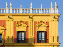 Episcopal Palace in Malaga Royalty Free Stock Photo