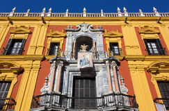Episcopal Palace in Malaga Royalty Free Stock Photography