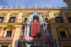 Episcopal palace of Malaga Royalty Free Stock Photography