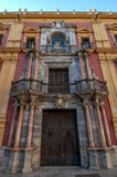 The Episcopal Palace in Malaga, Spain Royalty Free Stock Image