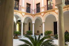 Episcopal Palace Malaga Royalty Free Stock Photos