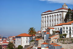 Episcopal Palace in Porto Royalty Free Stock Image