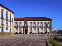 Episcopal Palace in Porto Royalty Free Stock Images