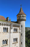 Episcopal palace in Rocamadour, France Royalty Free Stock Images