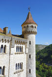 Episcopal palace in Rocamadour, France Royalty Free Stock Image