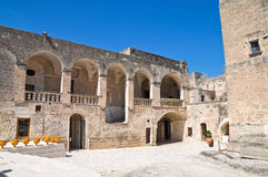 Episcopio Castle. Grottaglie. Puglia. Italy. Royalty Free Stock Photo