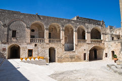 Episcopio Castle. Grottaglie. Puglia. Italy. Stock Image