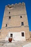Episcopio Castle. Grottaglie. Puglia. Italy. Perspective of the Episcopio Castle. Grottaglie. Puglia. Italy stock photo