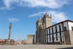 Episkopaler Palast in Porto, Portugal Stockfotografie