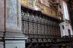 Episkopaler Palast in Porto, Portugal Innenraum nach innen Stockbilder