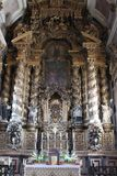 Episkopaler Palast in Porto, Portugal Innenraum nach innen Lizenzfreie Stockfotografie