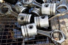 Epistons del Th per il motore, camion Immagine Stock