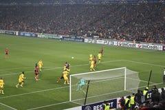 Epizode Champions League Abgleichung lizenzfreie stockfotografie