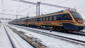 EPL2T elektryczny pociąg zdjęcia royalty free