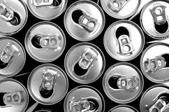 Epmty cans Royalty Free Stock Photo