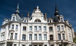 Epoca-wijk della reginetta nella città di Anversa, Belgio Immagine Stock Libera da Diritti