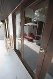 Epopeya Tailandia del diseño de la puerta del espejo Fotografía de archivo