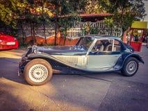 Epoque classic sport model car in Bucharest Stock Photography