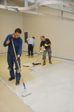 Epoxy surface for floor Stock Images