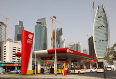 Eppco petrol station in Dubai Stock Photos