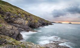 Epphaven Cove in Cornwall Royalty Free Stock Photo