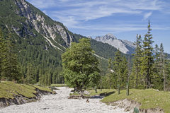 In Eppzirler Valley Stock Photography
