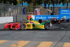 EPrix 2015 de FIA Formula E Putrajaya Fotos de archivo