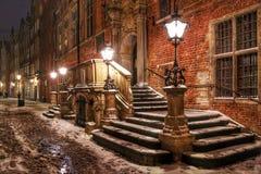 eps城镇向量冬天 免版税库存图片