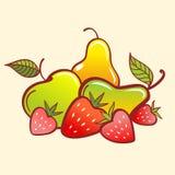 eps文件果子包括的向量 库存图片