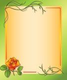 eps花卉框架上升了 库存图片