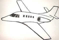 0 eps 8 αεροπλάνων διαθέσιμη έκδοση απεικόνισης Στοκ φωτογραφίες με δικαίωμα ελεύθερης χρήσης