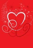eps βαλεντίνος καρδιών Στοκ φωτογραφία με δικαίωμα ελεύθερης χρήσης