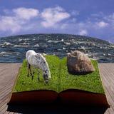 eps 8 βιβλίων εικονογράφος Στοκ Εικόνα