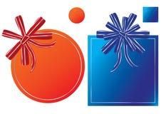 eps ετικέτες δώρων Στοκ εικόνες με δικαίωμα ελεύθερης χρήσης