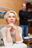 eps διάνυσμα φιλονικίας οικογενειακής απεικόνισης jpeg Στοκ φωτογραφία με δικαίωμα ελεύθερης χρήσης