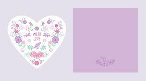 eps 10 καρτών διανυσματικός τρύγος απεικόνισης χαιρετισμού Στοκ εικόνες με δικαίωμα ελεύθερης χρήσης