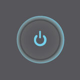 eps 10 κουμπιών διάνυσμα ισχύος απεικόνισης μορφής στοκ εικόνες
