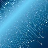 eps κυκλωμάτων χαρτονιών 10 ανασκόπησης μπλε σχέδιο Στοκ φωτογραφία με δικαίωμα ελεύθερης χρήσης