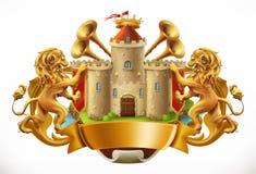 a3e4dd2b14 eps παλτών 8 πρόσθετος όπλων εικονογράφος μορφής αρχείου Castle και  λιοντάρια διάνυσμα εικονιδίων εργαλείων απεικόνιση αποθεμάτων
