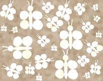 eps πεταλούδων 10 ανασκόπησης διάνυσμα Στοκ Φωτογραφίες