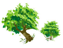 eps πρότυπο δέντρο αρχείων Στοκ Φωτογραφία