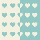 eps συμπεριλαμβανόμενο καρδιές διάνυσμα αρχείων Βαλεντίνος υποβάθρου Στοκ Εικόνα