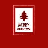 eps Χριστουγέννων 8 καρτών συμπεριλαμβανόμενο αρχείο δέντρο Στοκ Φωτογραφία