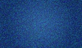EPS10 Симметрия кристаллов на голубой предпосылке также вектор иллюстрации притяжки corel зелень gentile предпосылки абстракции Стоковое фото RF