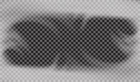 10 eps Туман или изолированный дымом прозрачный специальный эффект Белая предпосылка пасмурности, тумана или смога также вектор и Стоковые Изображения